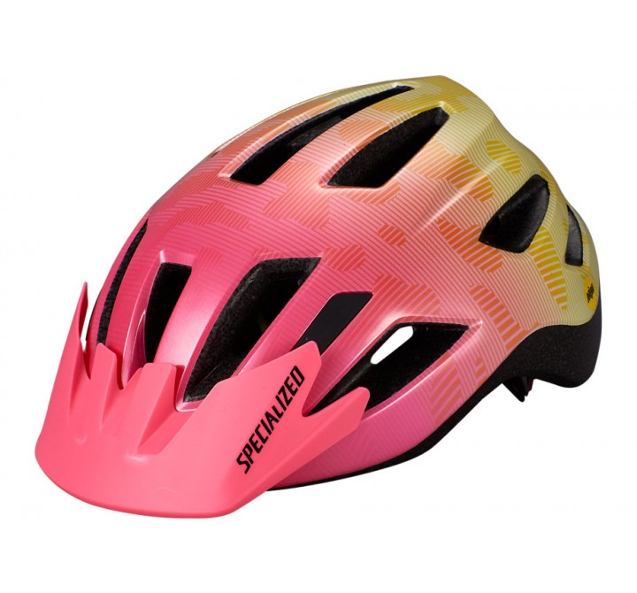 CYKELHJELM SPECIALIZED SHUFFLE YOUTH MIPS PINK TERRAIN