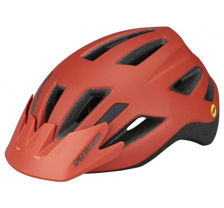 CYKELHJELM SPECIALIZED SHUFFLE YOUTH MIPS SATIN REDWOOD