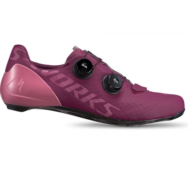 CYKELSKO SPECIALIZED S-WORKS 7 ROAD CAST BERRY