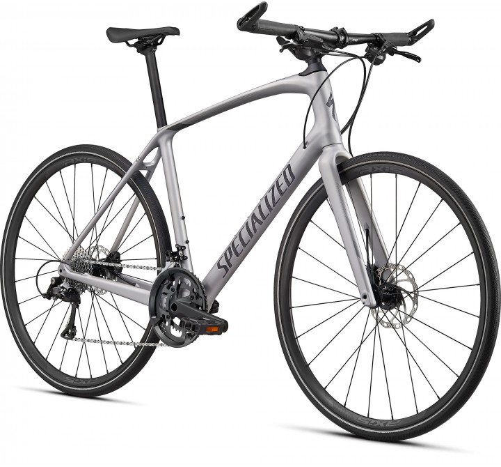 2021 SPECIALIZED SIRRUS 4.0 CARBON FLAKE SILVER