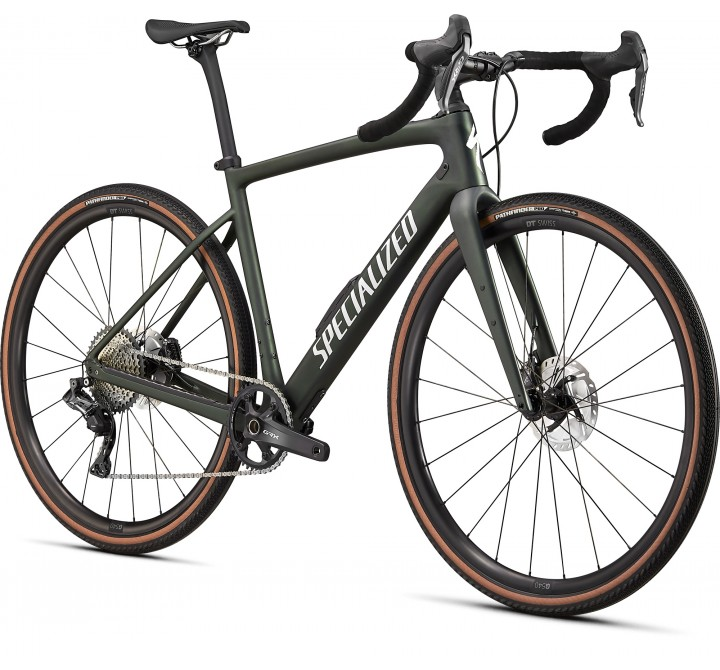 2021 Specialized Diverge Expert Carbon Green
