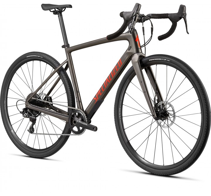 2021 SPECIALIZED DIVERGE BASE CARBON GLOSS SMOKE