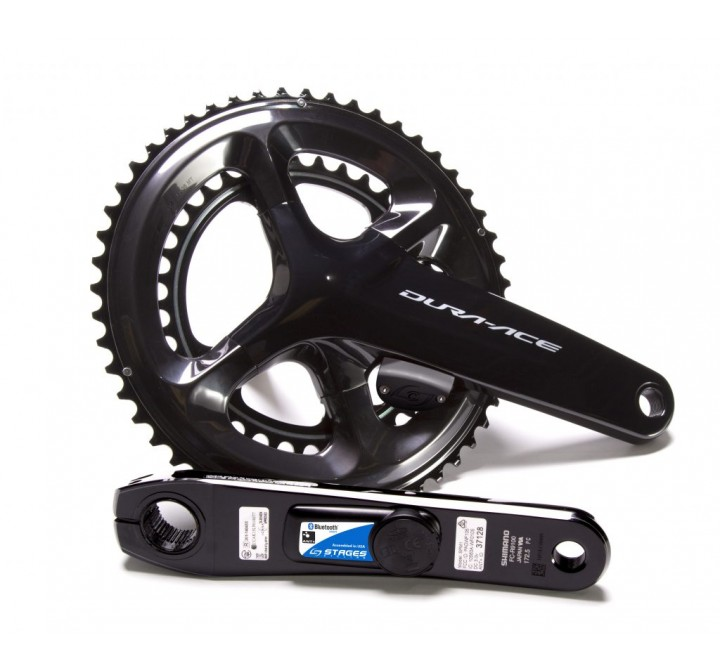 STAGES WATTMÅLER SHIMANO DURA ACE R9100 DUAL