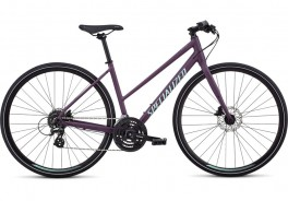 2019 SPECIALIZED SIRRUS DISC STEP WMN PURPLE STR. LARGE