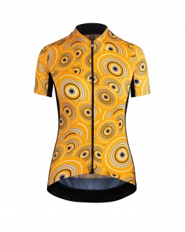 ASSOS UMA GT SHORT SLEEVE JERSEY CAMU ORANGE