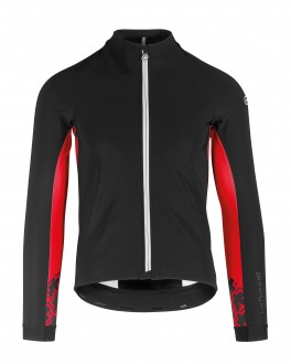 ASSOS MILLE GT WINTER JACKET SORT/RØD