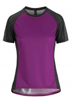 ASSOS TRAIL SS JERSEY DAME PURPLE