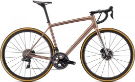 S-WORKS AETHOS DURA ACE DI2 SILVER/RED GOLD