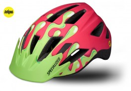 CYKELHJELM SPECIALIZED SHUFFLE YOUTH MIPS ACID PINK