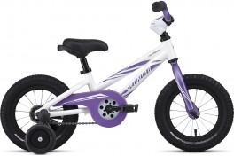 "SPECIALIZED HOTROCK 12"" WHITE/PURPLE"