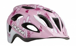 CYKELHJELM LAZER P'NUT BLOMSTER PINK