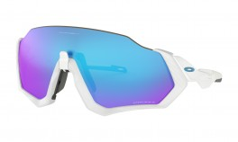 OAKLEY FLIGHT JACKET WHITE PRIZM SAPHHIRE