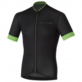 SHIMANO S-PHYRE JERSEY SS BLACK/GREEN