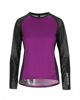 ASSOS TRAIL LS JERSEY DAME PURPLE