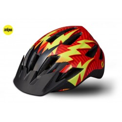 CYKELHJELM SPECIALIZED SHUFFLE CHILD MIPS RED LIGHTNING